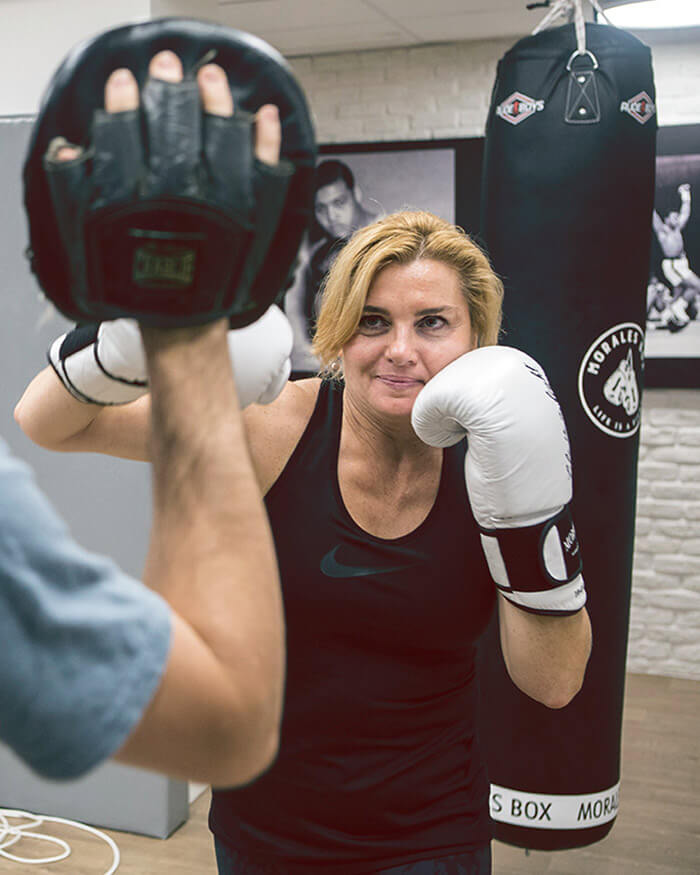 Boxing and training for all - Morales Box